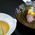 お刺身 と お豆腐inイクラ