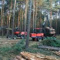 Harvester, Rückezug