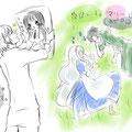 妖狐×僕SS(御狐神双熾)・カゲロウプロジェクト(マリーとセト)