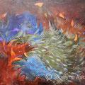 Effluves de liberté-Acrylique et mixtes-30x24 pouces
