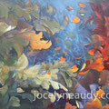 VENDUE -Saison intemporelle- Acrylique et mixtes sur toile galerie - 30x40 pouces