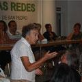MARICARMEN ES LA PERSONA QUE IMPARTE EL TALLER DE MANUALIDADES LOS MIERCOLES
