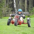 Bullcart fahren - ein Spaß für Groß...