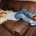 Auf jeden Fall hat das Wochenende müde gemacht!
