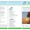 Prima Klima Kids, Print Folder für das Landratsamt Mühldorf a. Inn, März 2019