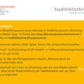 Postkarte Lesen trotz Krise, Stadtbibliothek Burghausen 2020