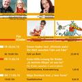 Plakat Stadtbibliothek Burghausen, Veranstaltungen 2018, März 2018