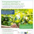 Plakate für die Energiesprechstunde, Landratsamt Mühldorf a. Inn, August 2019