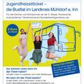 Landratsamt Mühldorf am Inn, Jugendfreizeitticket, Flyer Seite 1_,Juni 2021