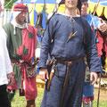 Sven zu Lobenstein wird in den Knappenstand erhoben