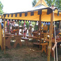 750-Jahrfeier Blumberg Lager mit den Freyen Rittersleut zu Randingen