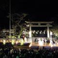 201303 奉献「香取神宮薪能」/  香取神宮