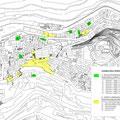 Contratto di Quartiere II Vizzini - Planimetria interventi