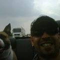 Jena, Cristiano e la cabrio..divertimento assicurato!
