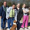 Peggy e la sua famiglia d'oltreoceano