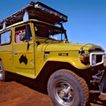 Mit Frank in Westaustralien (Landcruiser BJ45)