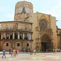 La basílica de la Virgen de los Desamparados