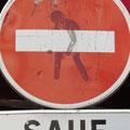 Montmartre neues Schild...