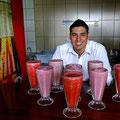 Die Fruchtshakes in Costa Rica sind einmalig!