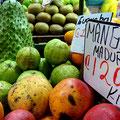 Auf dem Markt in San Jose