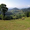 Landschaft im Apuseni-Gebirge