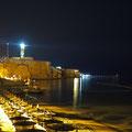 Leuchtturm auf der Südspitze der Sinai-Halbinsel bei Ras Um Sid