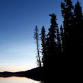 Fox-Lake - 1. Nacht ca. 2:00 nachts - taghell - Jetlag.