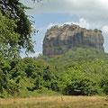 Sigirija - mysteriöser und sagenumwobener Felsblock