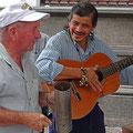 Straßenmusiker in San Jose