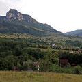 """Landschaft bei Rimetea (Gebirgszug """"Piatra Secuiului"""")"""