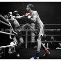 K.O. Schlag von Janosch Nietlispach vs. Jamie Bates, Foto/Bearbeitung: Christian Schmid