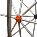 Anbringung Magnetschiene/Knotenpunkt