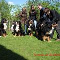 Sammy, Louna, Lotte, Alix, Alvin, Alva (v.l.n.r)
