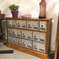 Meuble vintage poste