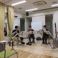 木管五重奏レッスン風景