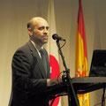 ロマネスク友の会のフアン・アントニオ・オラニェタ会長です。
