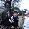念願の忍者発見!!
