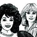 Aus Denver Clan Joan Collins und Linda Evans