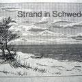 Strand in Schweden
