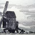 Mühle auf der Insel Öland