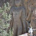 2. Rock Cut Sculpture at Mulbekh
