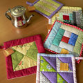 Salvamanteles patchwork