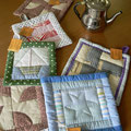 Salvamanteles patchwork