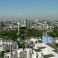 Blick über Hamburg vom Michel (St. Michaelis) aus gesehen