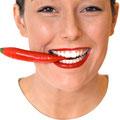Durch Veneers optimierte Zahnform