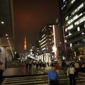 東京タワーのある風景。