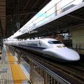 名古屋。新幹線乗るの楽しみやってん。