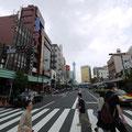 東京。スカイタワーが見えた。
