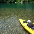 ボクが知る限り日本で一番キレイな川。古座川でカヌー。