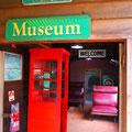 キュランダ鉄道の博物館。